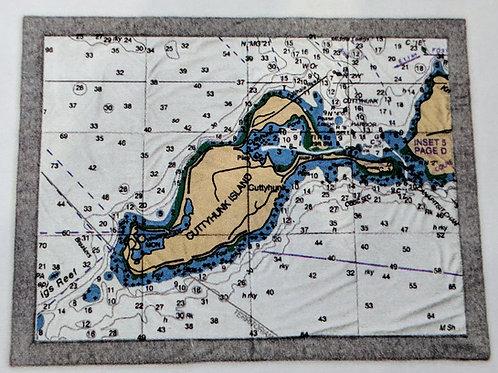 Island Chart Blanket