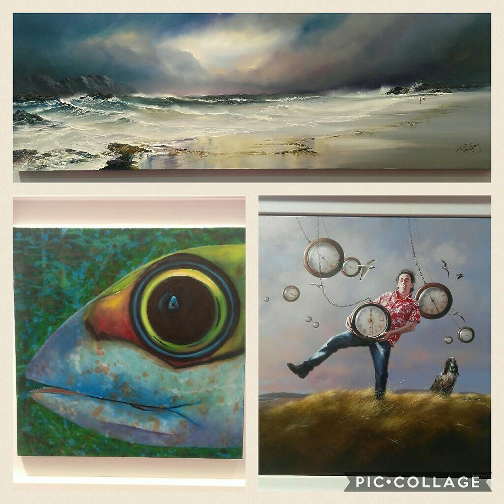 Lorraine Fenlon Fine art. Left corner