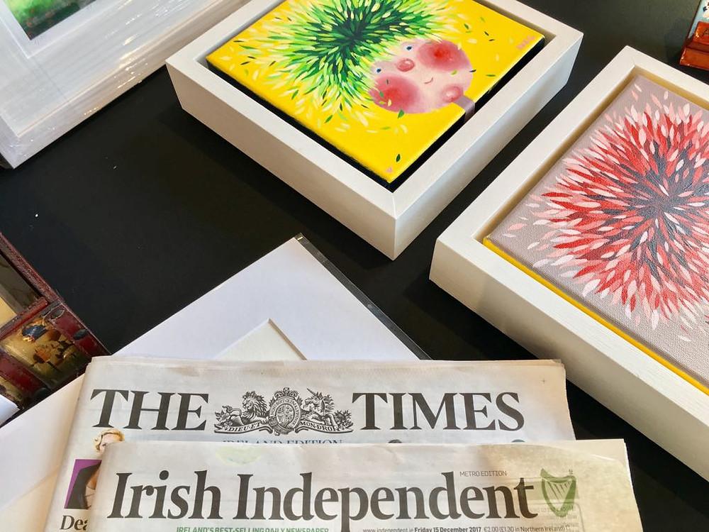 Irish UK Times, Irish Times and Irish independent