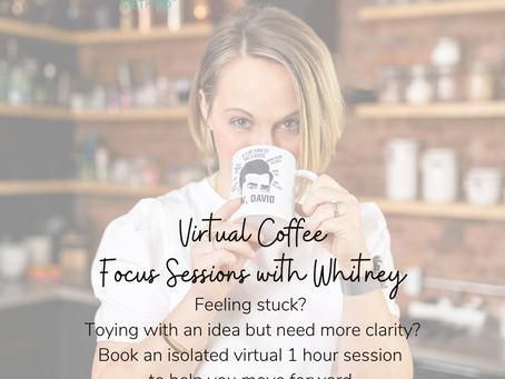 Virtual Coffee Sessions Now Available!