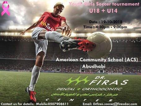 Youth Girls Soccer Tournament U18 U14 (ACS)