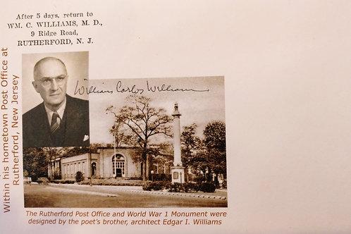 William Carlos Williams Signed Postcards