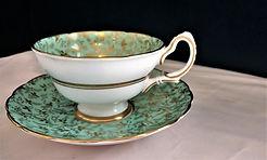 Grosvenor Bone China Teacup with Saucer