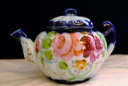 Vibrant colored Teapot SOLD.JPG
