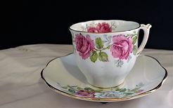 Stratford Fine Bone China Teacup with Sa
