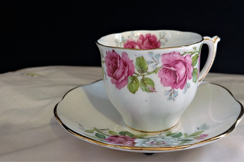 Stratford Fine Bone China Teacup with Saucer, Made in England