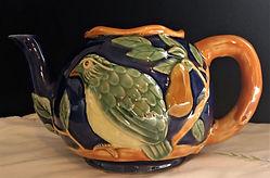 Classic Majolica Handpainted Stoneware $