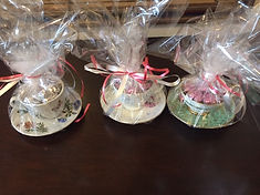 Valentine Gift Tea Cups and Chocolate