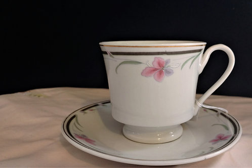Napco Teacup with Saucer