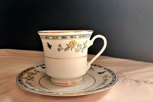 Truly Tasteful Fine China Teacup with Saucer