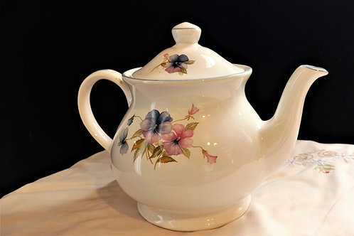 Sadler Floral Teapot, Made in England