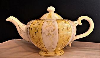 Gold Trim Teapot $20.00.jpg