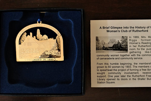 Woman's Club of Rutherford Ornament