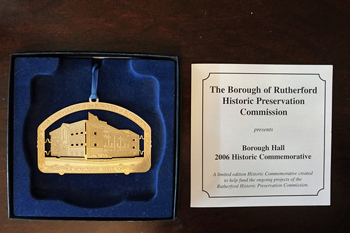 Rutherford Borough Hall Ornament