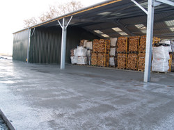 Products: Bags,  pallets and posts