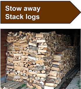 LFS Service Stow away stack logs