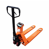 Pallet truck for movements on hard surfa