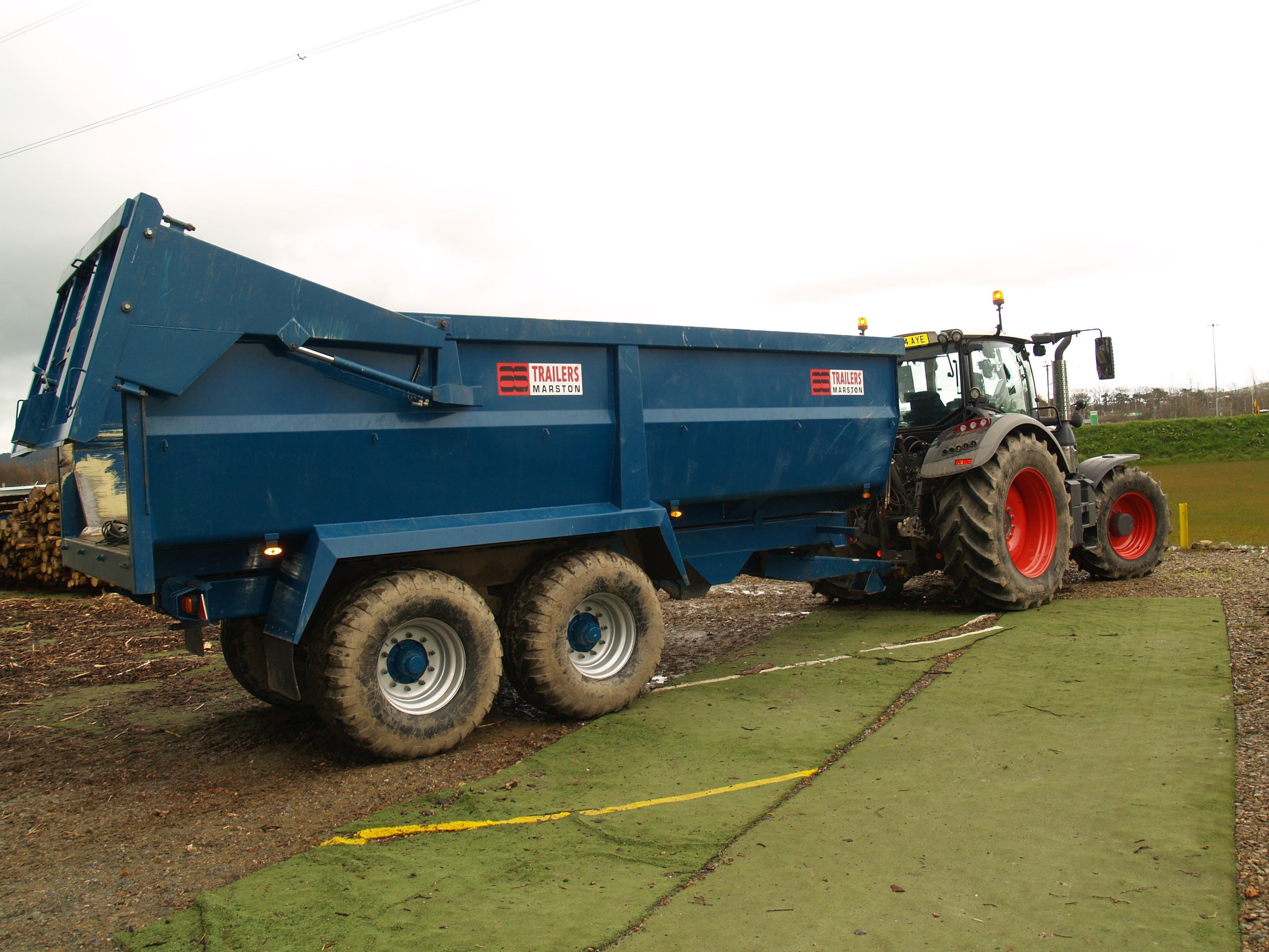 20m3 farm trailer