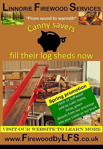 Linnorie Firewood Services (LFS) - Aberdeenshire & Moray firewood logs supplier: weight and moisture content quality assurance
