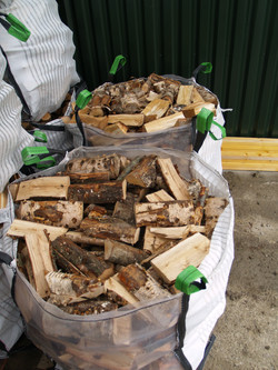 Hardwood logs: birch