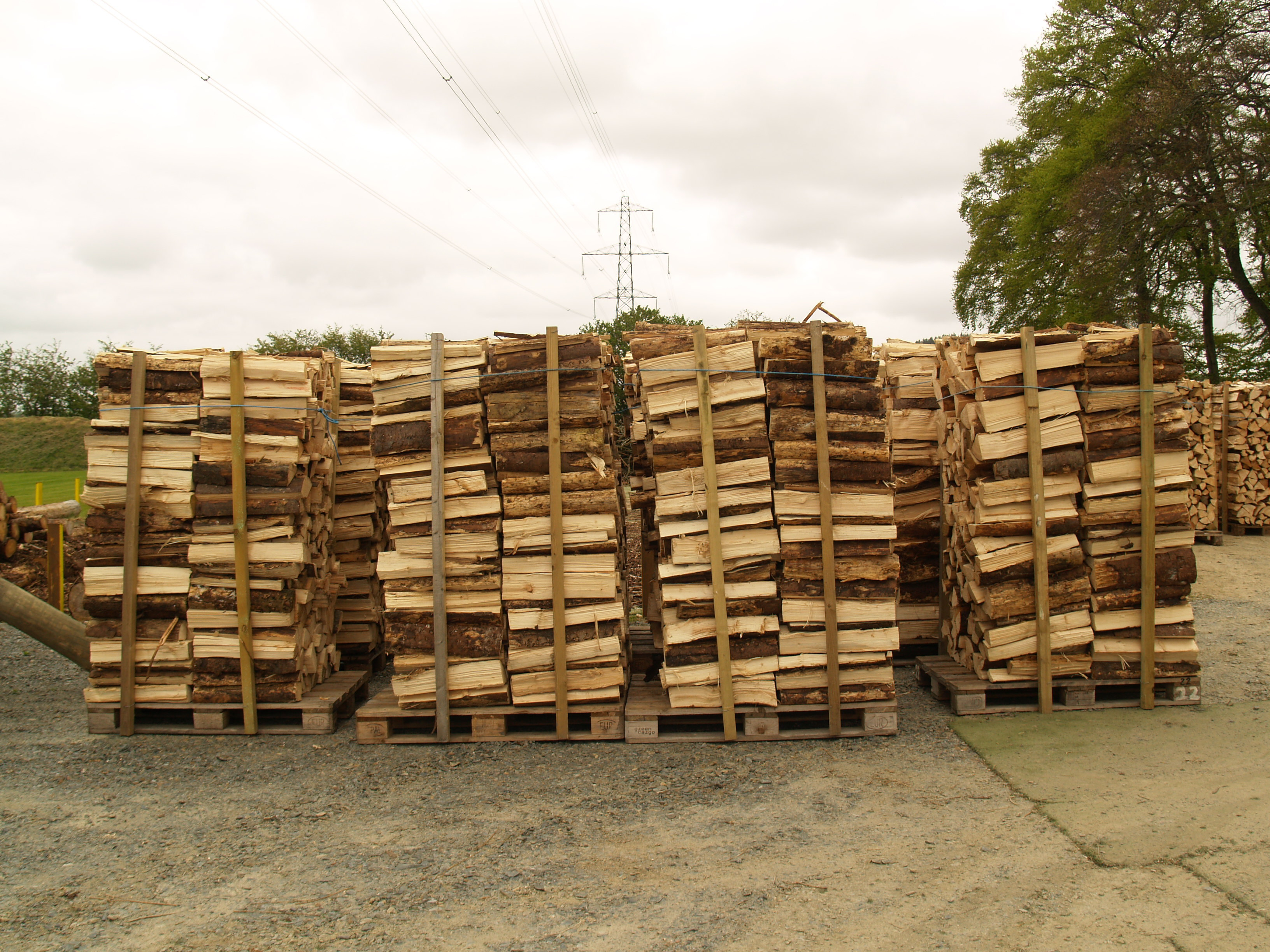 Product: pallet and posts