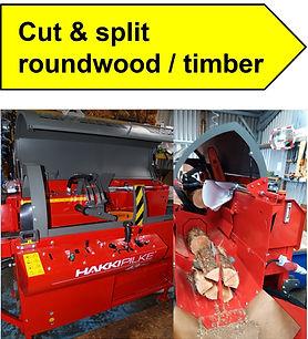 LFS Service Cut Split  Roundwood