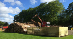 softwood delivery to Linnorie Park