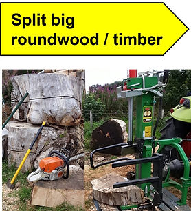 LFS Service Split big Roundwood