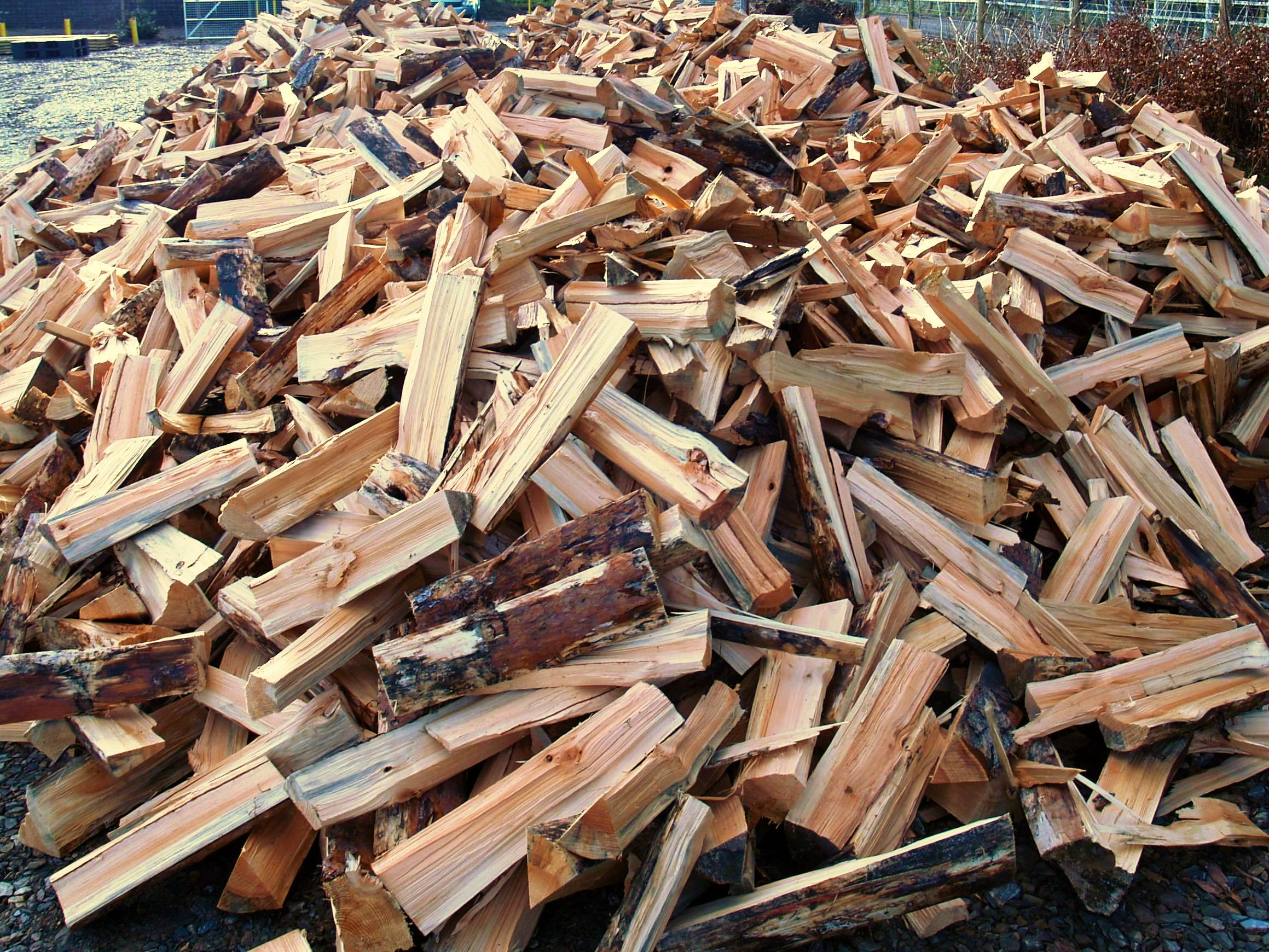 Product: logs loose, unseasoned