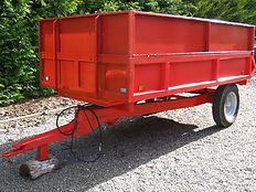 Small tipping Trailer for 6m3 delivery