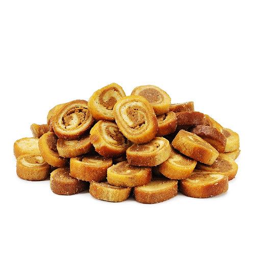 Сухарики со вкусом жареных лисичек и лука