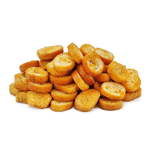 Сухарики со вкусом сёмги и сыра