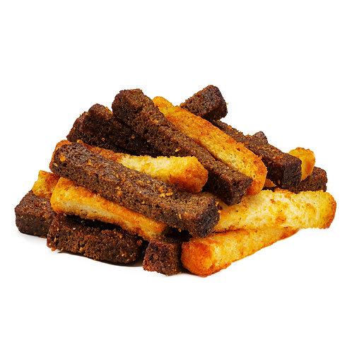 """Сухарики со вкусом паприки и чеснока """"ассорти"""""""