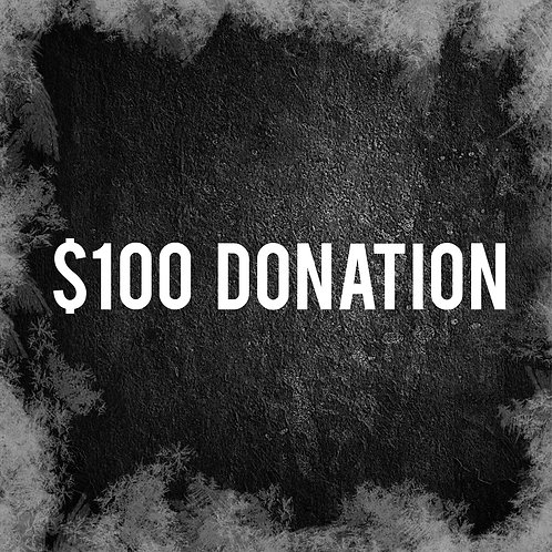 One Hundred Dollar Donation