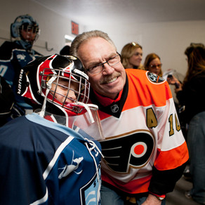 Flyers Alumni Clement, Cote Continue to Give Back to Special Needs Youth at LVWC