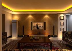 LED STRIP IN LIVINGROOM