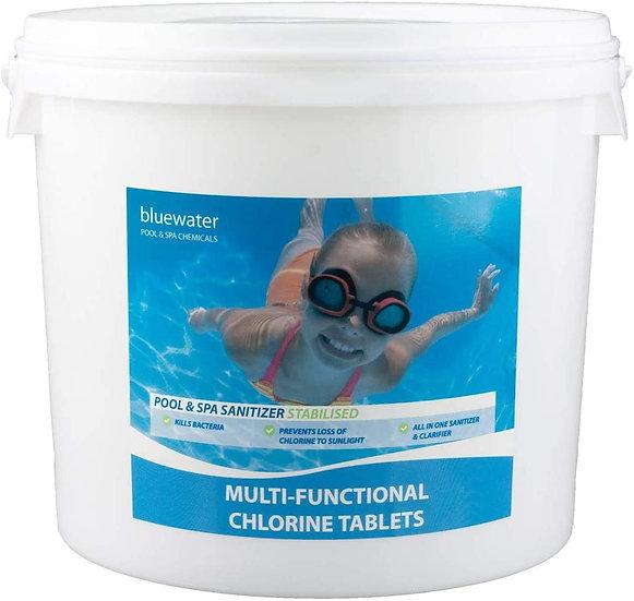 5 Kg Chlorine Multiplex Tablets Maxi 200g Large Swimmingpool