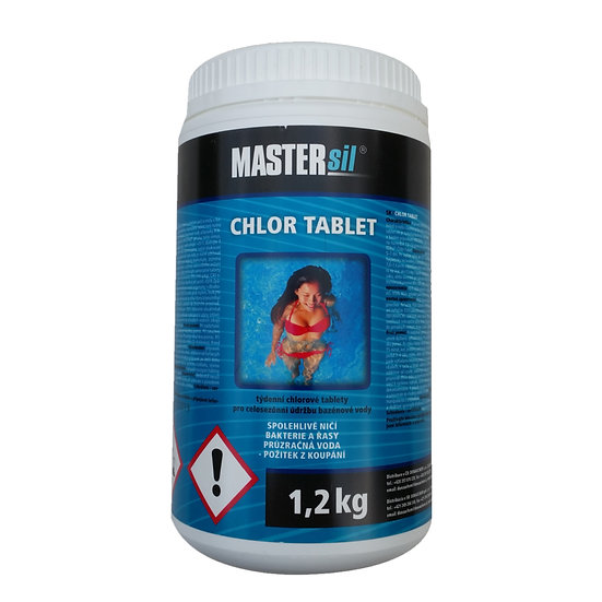 Chlorine Tablets MAXI 5 in 1 Swimming pool chemicals 1,2 Kg