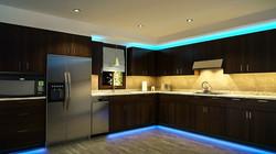 LED STRIPS LIGHTS IN KITCHEN