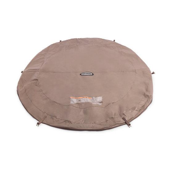 Intex spa cover 4 person tub around shape