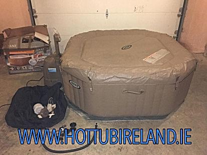 intex octagonal spa used hot tub