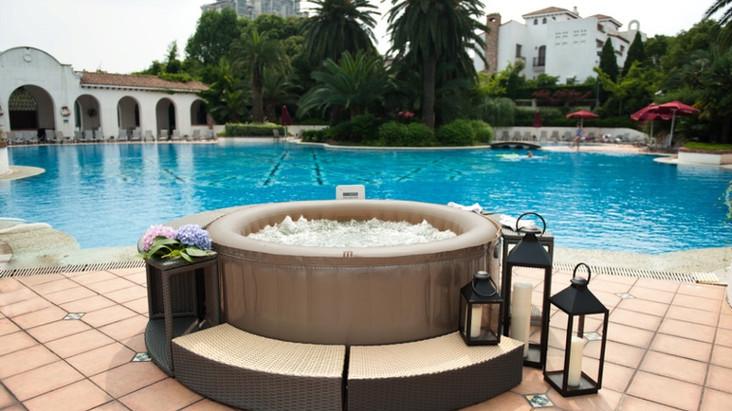 Inflatable hot tub Mspa Reve JB-301 Reviews 2015 - 2016