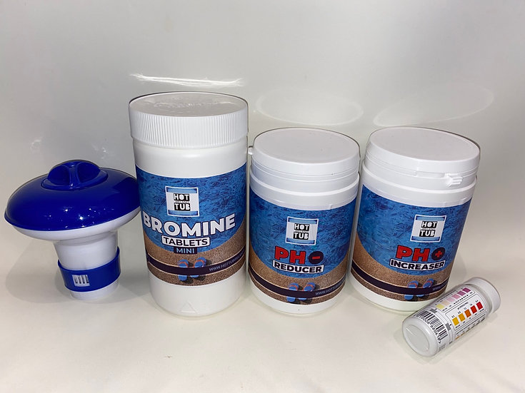No.4 - Complete Bromine Hot Tub Chemical Starter Kit