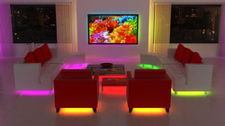 LED LIGHT IN THE HOUSE FURNITURE