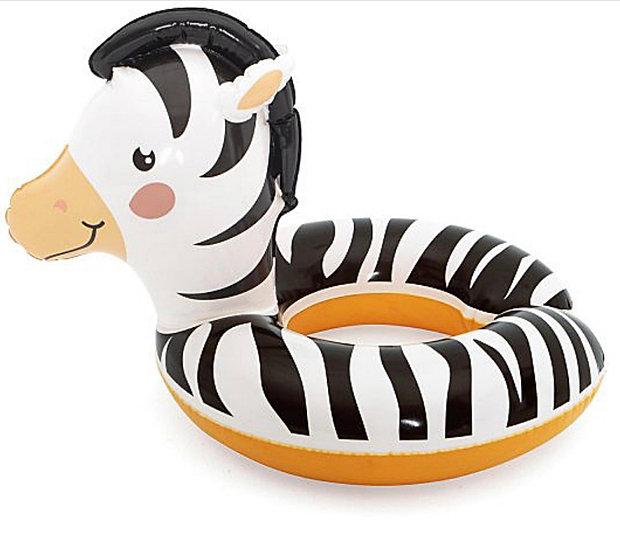 Zebra Bestway Animal Swim Ring 3-6 Years