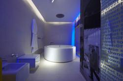 LED LIGHT STRIP IN BATHROOM