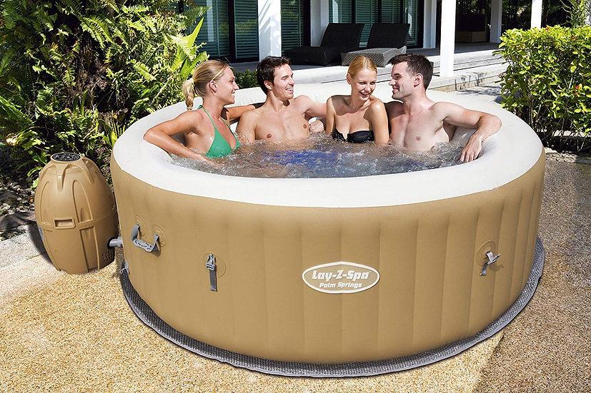 Lay-Z-Spa Palm Springs Portable hot tub.