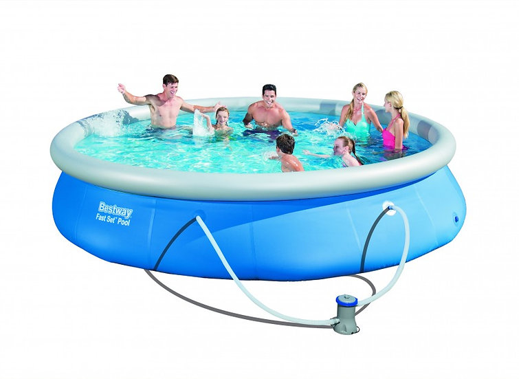 Bestway Marin Fast Set Above ground pool - Inflatable - 4.57 m