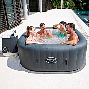 used hot tub lay z spa hawaii hydrojet p