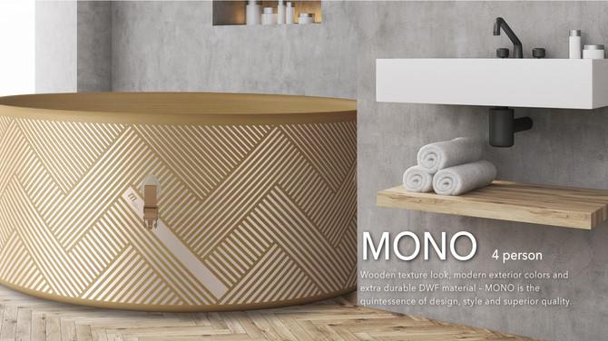 Mspa MONO C-MO04 / C-MO06 Inflatable hot tub